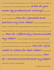 PROFESSIONAL WRITING IN THE HEALTH DISCIPLINES